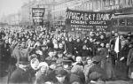 Massa betoging in Sovjet Rusland