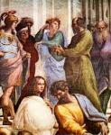 De School van Athene, door Rafaël.